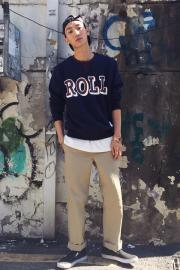 "<SALE>【87mm】 ""ROLL""SWEAT SHIRTS"