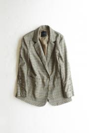 <50%OFF>Check Tailored Jacket