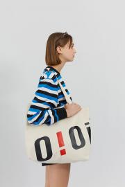 <SALE>【oioi】BIG LOGO ECO BAG
