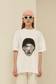 【13 MONTH】FACE PRINTING T-SHIRT