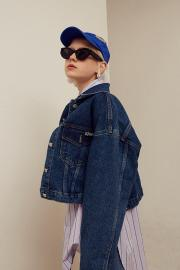 【13 MONTH】WAPPEN DENIM TRUCKER JACKET