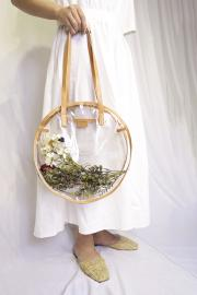 <SALE>CLEAR CIRCRE BAG