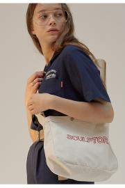 <SALE>【SCULPTOR】BIG-BUCKLE MESSENGER BAG