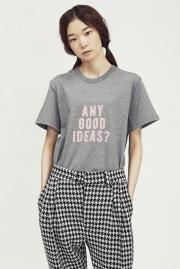 "〈SALE〉【87mm】 ""ANY GOOD IDEAS?"" HALF-T"