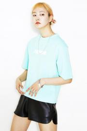 〈SALE〉【TWOWIN-B】 Basic Poly Tee