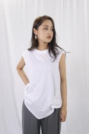 Asymmetry Hem Tank Top