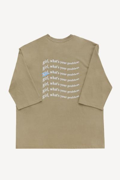 〈SALE〉【87MM】 WAVING GIRL T