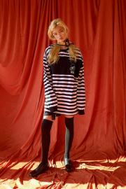 <SALE>【ESC STUDIO】BIG SIZE STRIPE