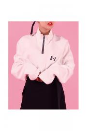 <SALE>【BASIC COTTON】A-Z ZIP TOPS