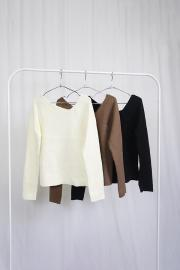 Asymmetry Knit Top