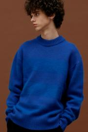 <SALE>【ROCKET×LUNCH】 R ANGORA ST-KNIT