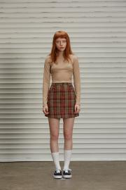 <SALE>【SCULPTOR】SCPT CROP TURTLENECK