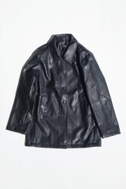 <SALE>Eco Leather Jacket