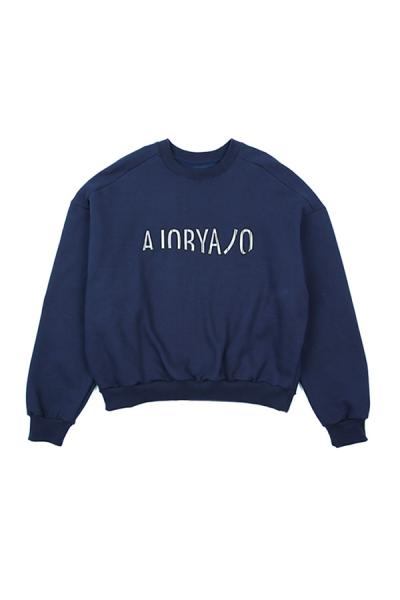 <SALE>【AJO BY AJO】Over sweat shirt