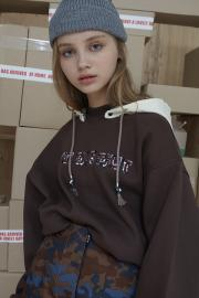 <SALE>【ODDONEOUT】DEATACHED HOOD SWEAT SHIRT
