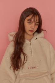 【oioi】FAKE FUR ANORAK