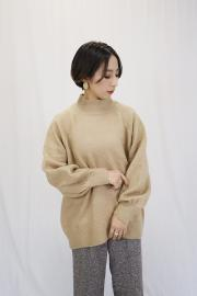 <SALE>Mock neck knit