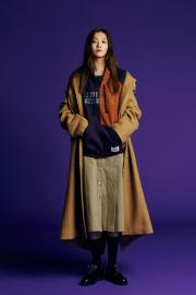 <SALE>【87mm】 Plain long coat