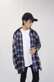 <SALE>Color check shirt