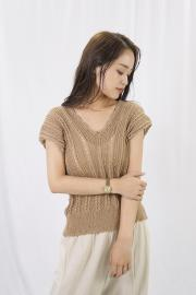 <50%OFF>Vneck Summer Knit